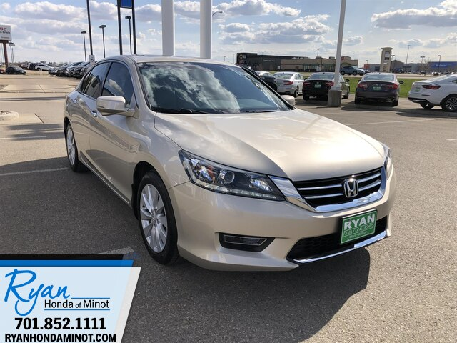 Pre-Owned 2013 Honda Accord EX-L V-6