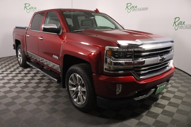 Ryan Chevrolet Minot Nd >> Pre Owned 2018 Chevrolet Silverado 1500 High Country Truck In Minot